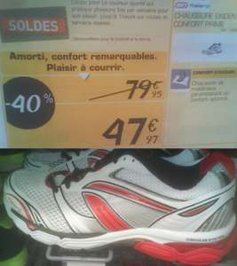 Chaussures Homme Running Kalenji Confort Prime