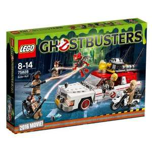 Jouet Lego Ghostbusters - Ecto-1 & 2 (75828)