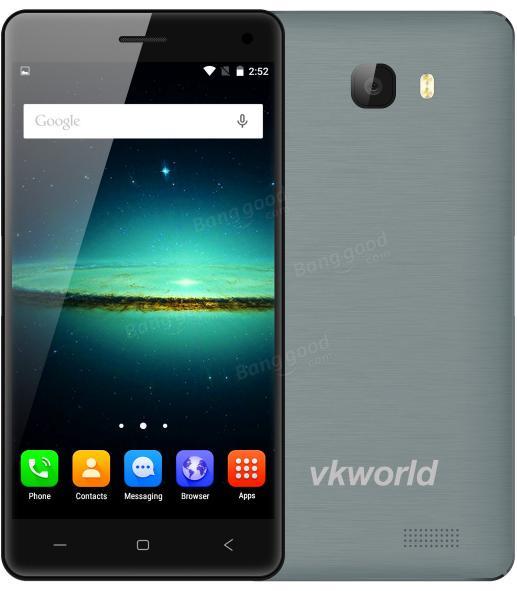 """Smartphone 5"""" VKworld T5 - 2 Go de RAM, 16 Go, gris ou or"""
