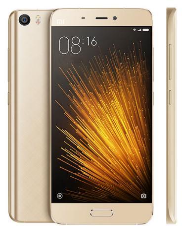 "Smartphone 5.15"" Xiaomi Mi 5 snapdragon 820, 3Go de ram, Or ou Blanc, 32Go (garantie remplacement incluse)"