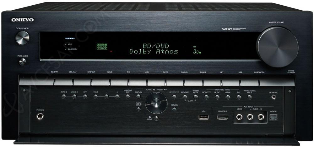 Ampli réseau HC 9.2 Onkyo TX-NR1030 THX Select2 Plus - 3 sorties HDMI, HCPS, Upscaler 4K/60Hz, Pre-Outs 11.4, Dolby Atmos (Jusqu'à 7.4.4), AccuEQ (20,5kg)