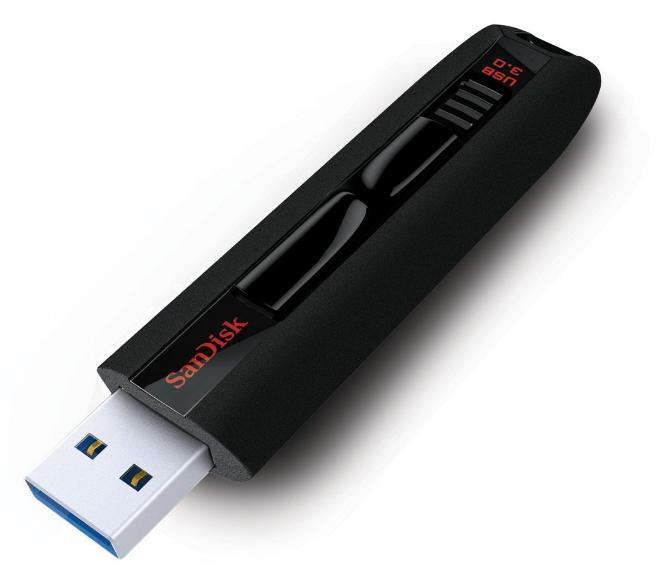 Clé USB 3.0 SanDisk Extreme - 64 Go (245 Mo/s en lecture et 190 Mo/s en écriture)