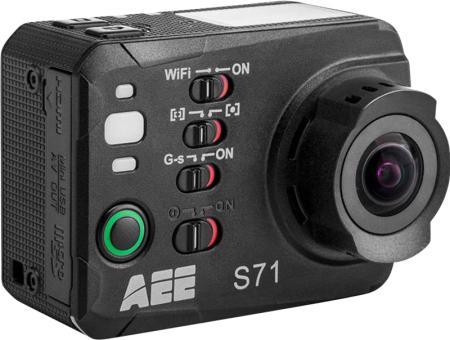 "Camera sportive AEE S71 Touch - 4K / 16MP, Wifi, Ecran tactile 2"""