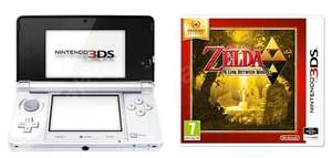 Console Nintendo 3DS Blanc + The Legend of Zelda A Link Between Worlds