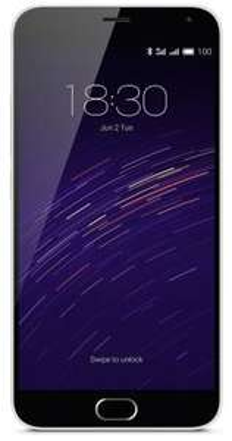 "Smartphone 5.5"" Meizu M2 Note - Gris, 16 Go"