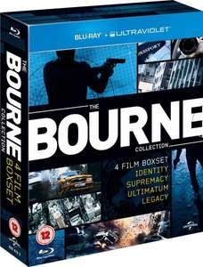 Coffret Blu-ray : The Bourne Collection (4 films)