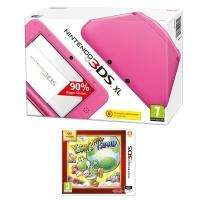 Console Nintendo 3DS XL Rose + Yoshi's New Island