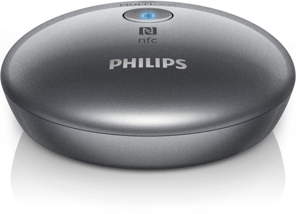 Adaptateur Hi-Fi Philips AEA2700 - Bluetooth, NFC et Multipair universel avec prise RCA et audio