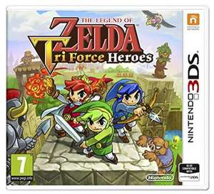 Sélection de jeux sur Nintendo 3DS en promotion - Ex : The Legend of Zelda : Tri Force Heroes
