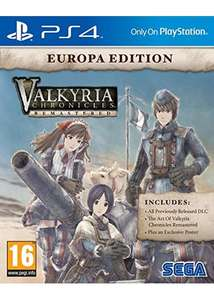 Valkyria Chronicles Remastered - Europa Edition sur PS4