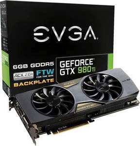 Carte graphique EVGA GeForce GTX 980 Ti FTW ACX 2.0+ - 6 Go