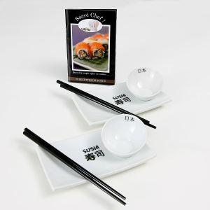 Coffret Cadeau sushi + Livret Recette (Autre coffret : Gratin)