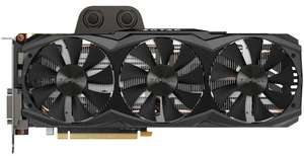 Carte graphique Zotac Nvidia GeForce GTX 980 Ti ArcticStorm - 6 Go