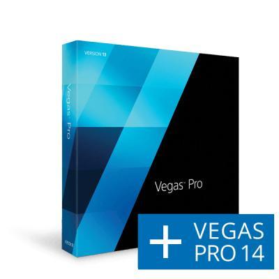 Logiciel de montage vidéo Vegas Pro 13 + Vegas Pro 14 (précommande)