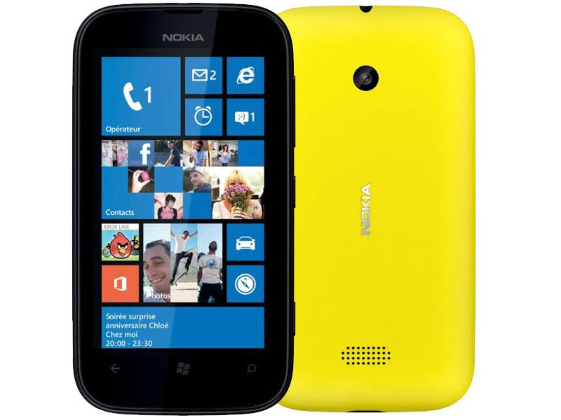 Nokia Lumia 510 Jaune ODR (30€)