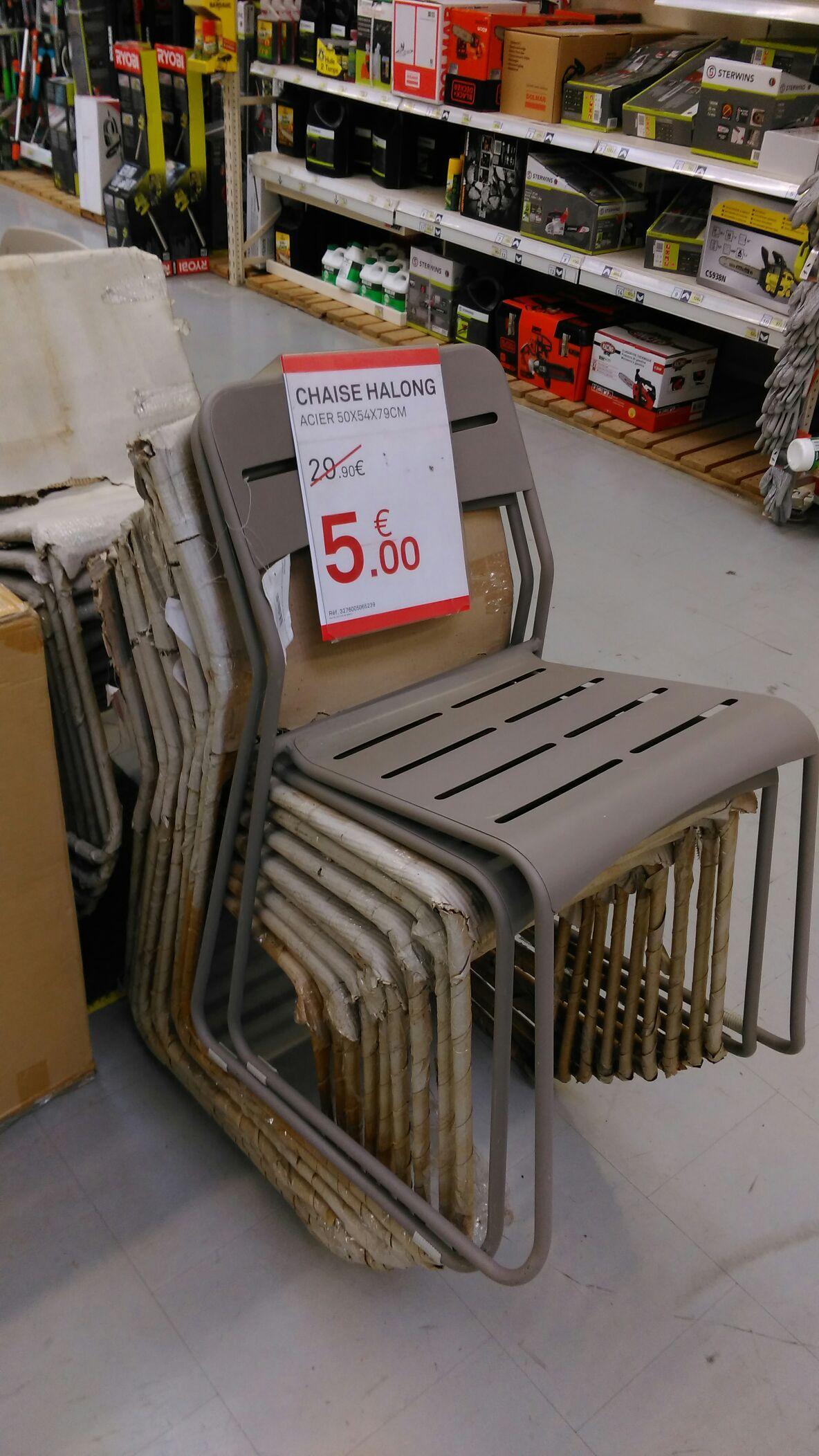 Sélection de produits en soldes - Ex : chaises de jardin Halong (acier)