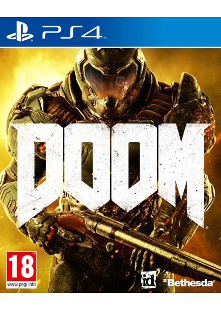 Jeu Doom sur PS4