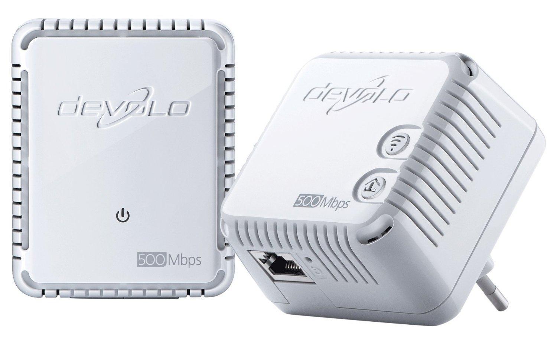 Jusqu'à 38% de remise sur une sélection de produits Wi-Fi Devolo - Ex: Lot de 2 prises réseau CPL Wi-Fi Devolo dLAN 500 WiFi