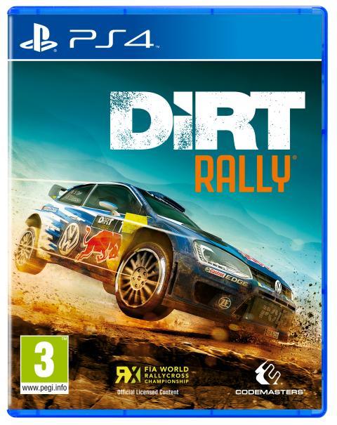 Jeu Dirt Rally sur PS4