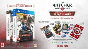 Extension The Witcher 3: Blood and Wine sur PC + 154 cartes Gwynt