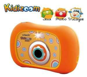 VTECH - Appareil photo (Kidizoom Junior - 3 en 1 - Orange)