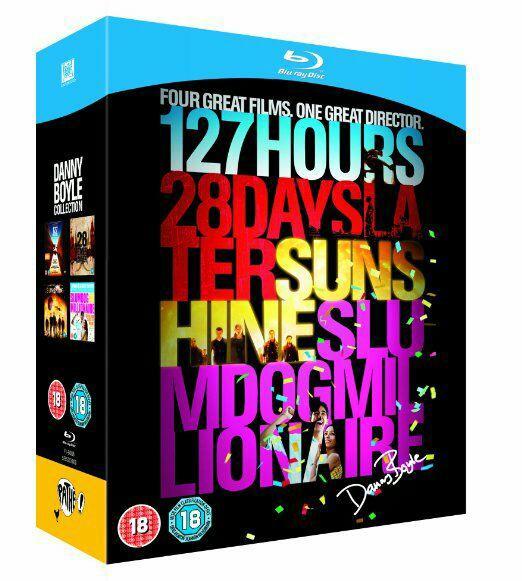Coffret 4 Blu-ray : Danny Boyle Collection - 127 Heures, Sunshine, Slumdog Millionnaire, 28 Jours Plus Tard (VO)