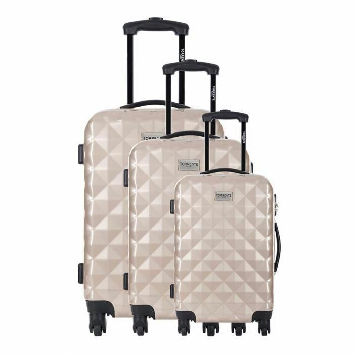 Set 3 valises Torrente Gerasa - Plusieurs coloris