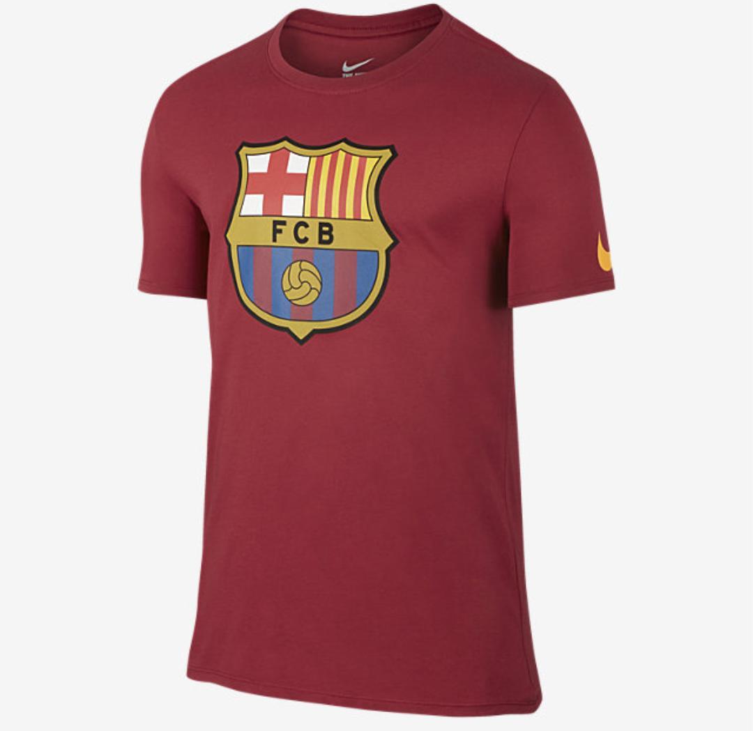 T-shirt Nike FC Barcelona Crest - Rouge