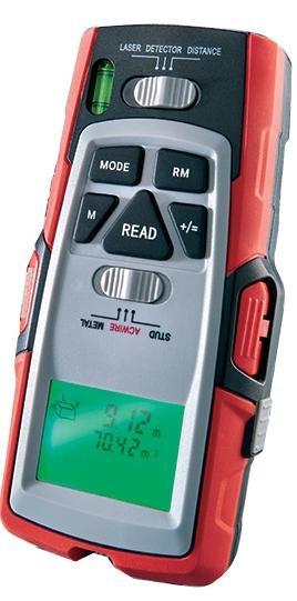 Détecteur de mesure 5 en 1 avec laser