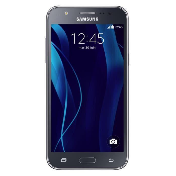 """Smartphone 5"""" Samsung Galaxy J5 Blanc (via odr de 30€)  et 20€ crédités sur la carte"""