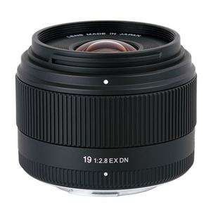 Objectif Sigma 19mm F2,8 DN EX pour Micro 4/3