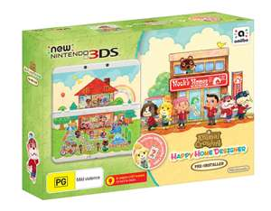 Console New Nintendo 3DS Animal Crossing : Happy Home Designer Pack