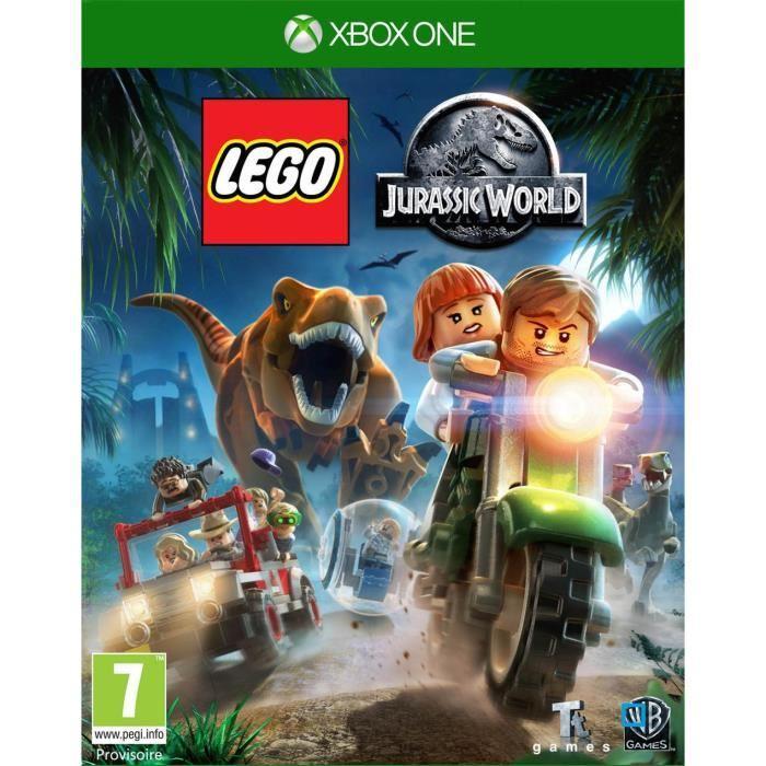 Jeu Lego jurassic Parc sur Xbox One