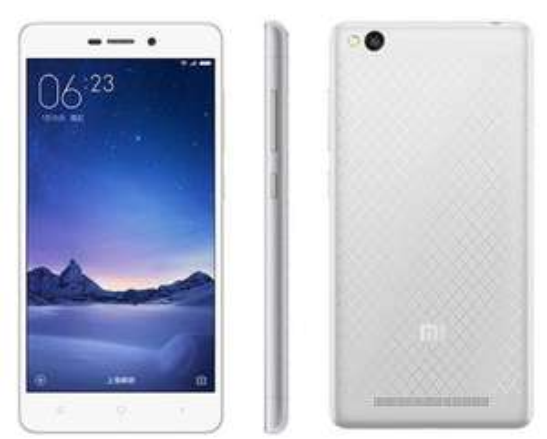 "Smartphone 5"" Xiaomi Redmi 3 - 4100 mAh, 2 Go de RAM, 16 Go, Silver White"
