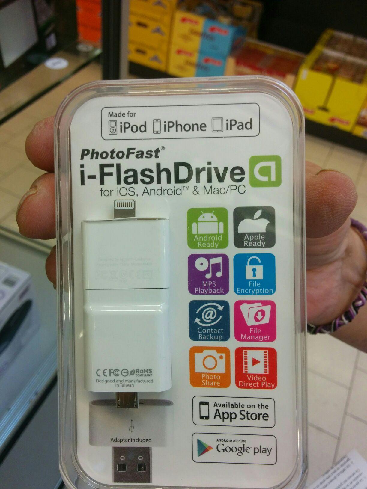 Cable de transfert USB 8 Go AGK i-Flash Drive