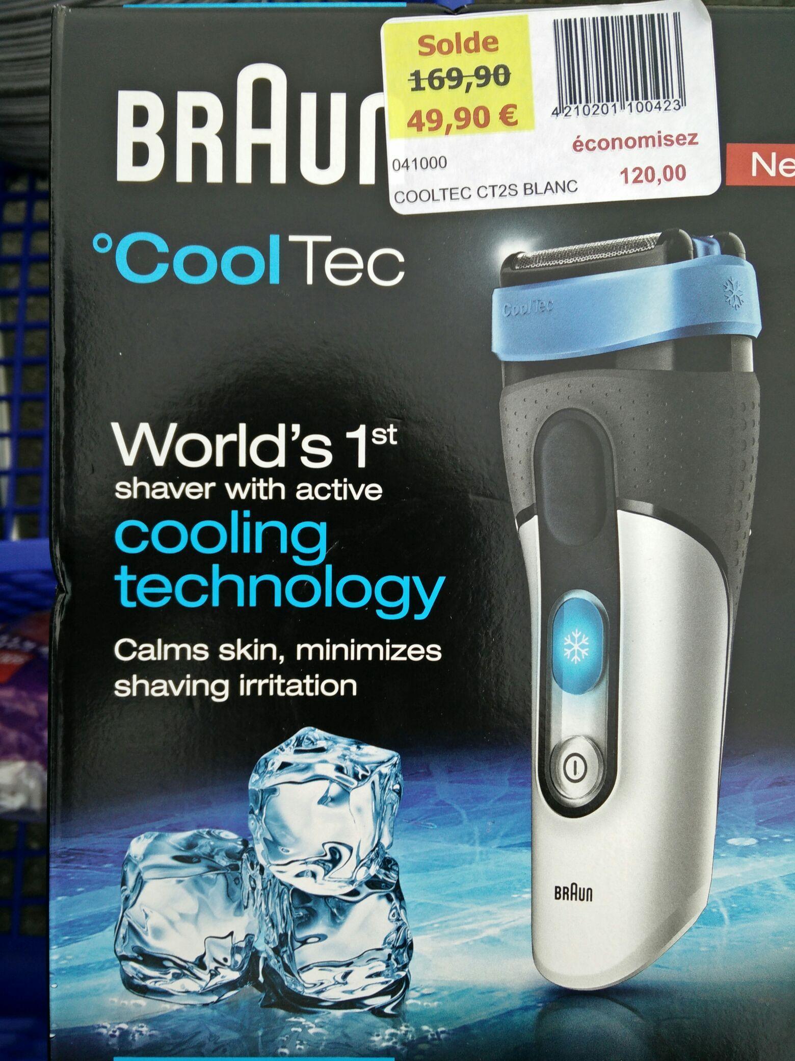 Rasoir électrique Braun CoolTec