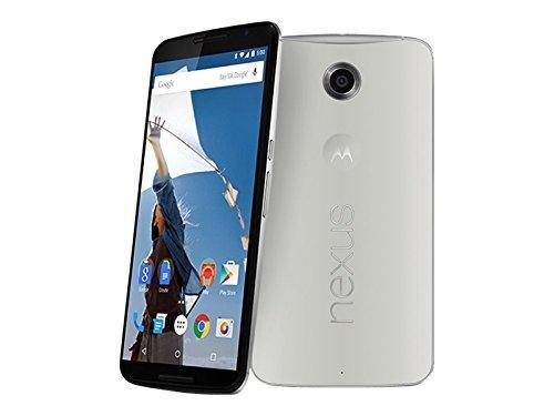 "Smartphone 6"" Motorola Nexus 6 Blanc -  QHD, Snapdragon 805, RAM 3Go, 64Go,  Android 6.0"