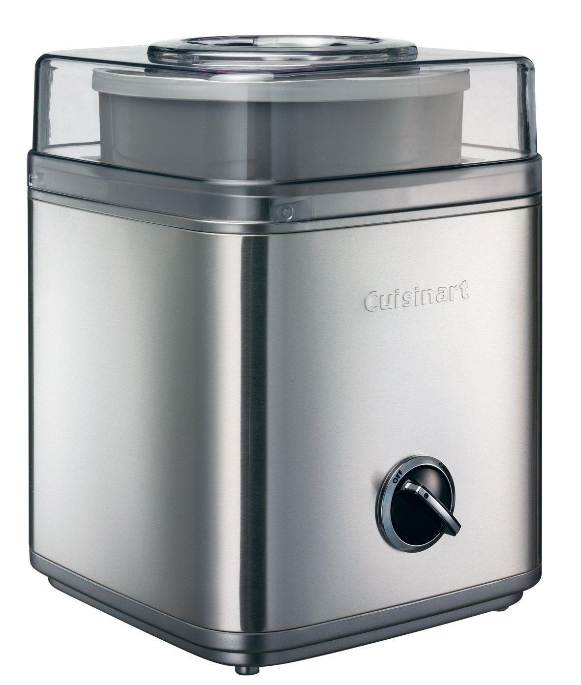 Sorbetière avec accumulateur de froid  Cuisinart ICE30BCE - 2 Litres