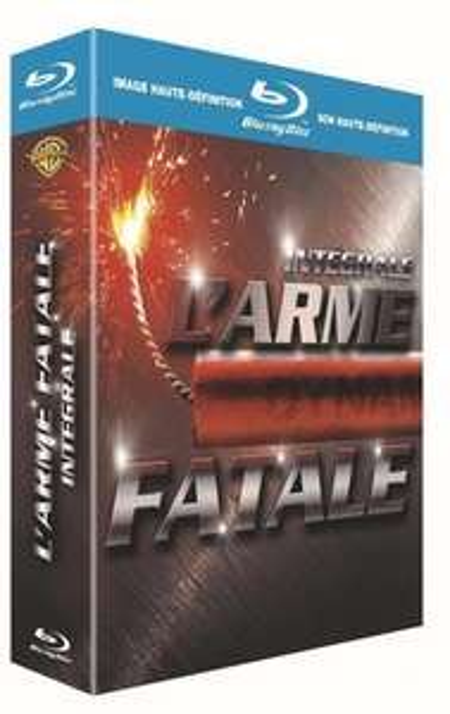 Coffret Blu-ray L'Arme Fatale - L'intégrale 4 films