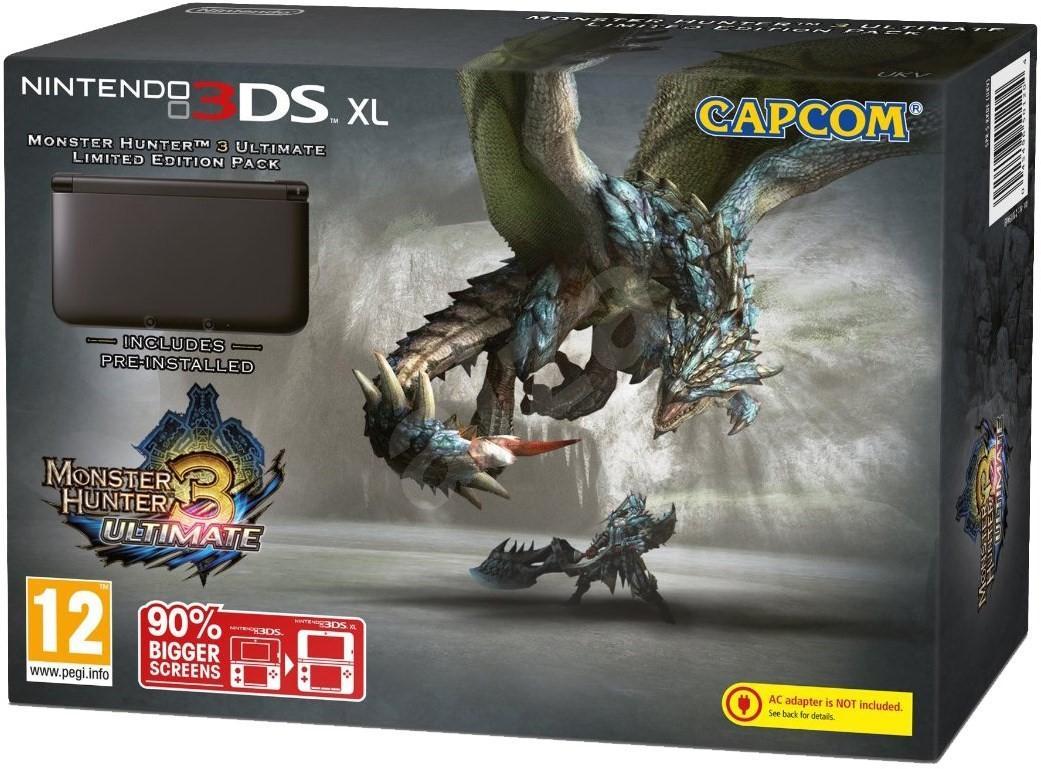 Nintendo 3DS XL noire + Monster Hunter 3 Ultimate