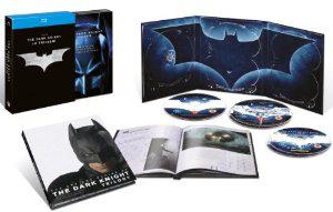 Batman La trilogie - Batman Begins, The Dark Knight, The Dark Knight Rises - 5 Blu-ray + 1 livret