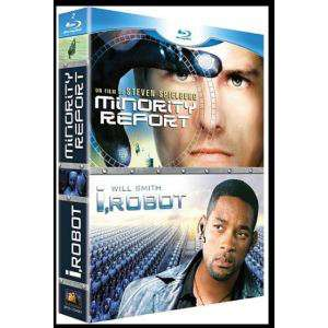 Coffret 2 Blu-Ray Minority report + I robot