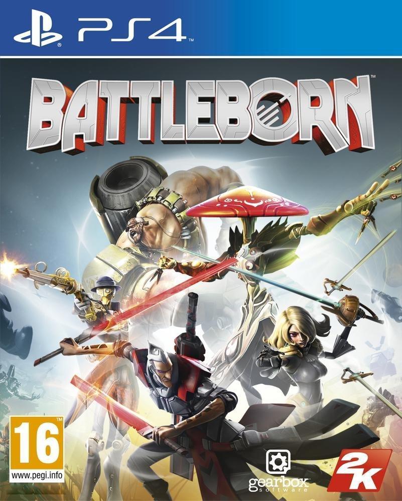 Battleborn sur PS4 et Xbox One + Figurine