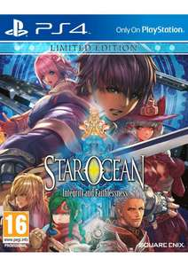 Jeu Star Ocean integrity and faithlessness sur PS4 - Limited edition