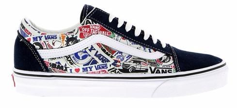 Chaussures Vans Old School Stickers (du 42 au 45)