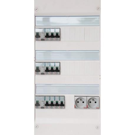 Tableau électrique pré-câblé Legrand Drivia (13 modules, 3 rangées)