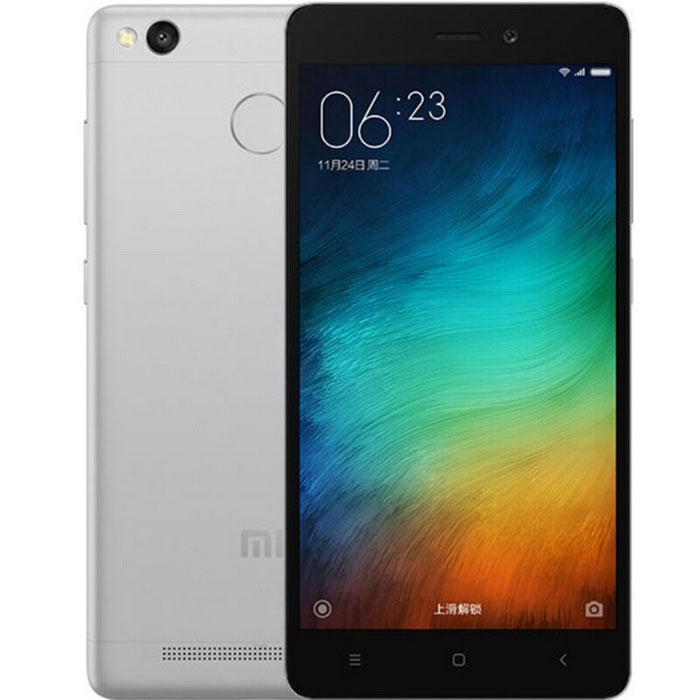 """Smartphone 5.1"""" Xiaomi Redmi 3S (2 Go de RAM, 16 Go, gris)"""