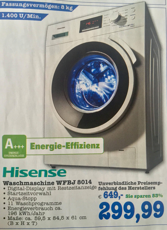 Lave-linge Hisense  wfbj8014 8kg 1400tr/min A+++