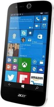 """Smartphone 4,5"""" Acer Liquid M330 - double-SIM, 8 Go, blanc (via ODR de 30€)"""