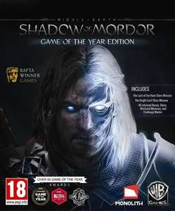 Sélection de jeux vidéo La Terre du Milieu en promotion -  Ex : L'Ombre du Mordor - GOTY sur PC (dématerialisé, Steam)
